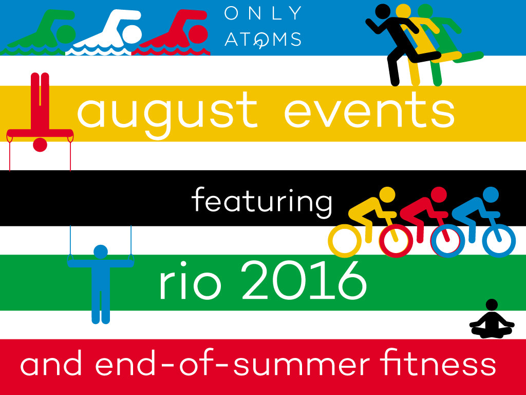 Fitness events in August and Rio Olympics viewing parties in NYC