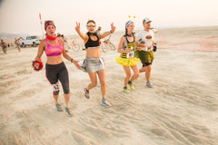 Running, Fitness & Working Out at Burning Man