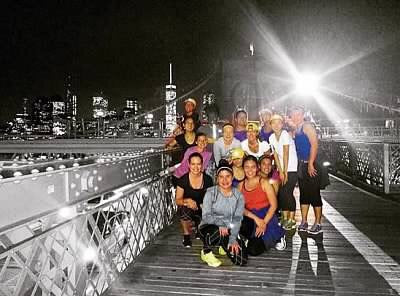 Lole running group in NYC