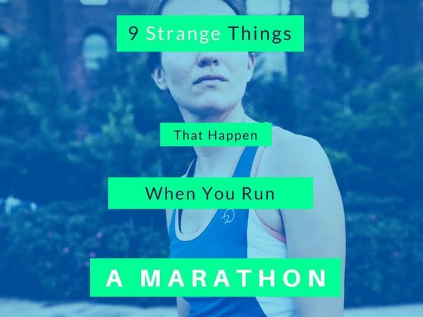 Weird Things That Happen When Running Marathons