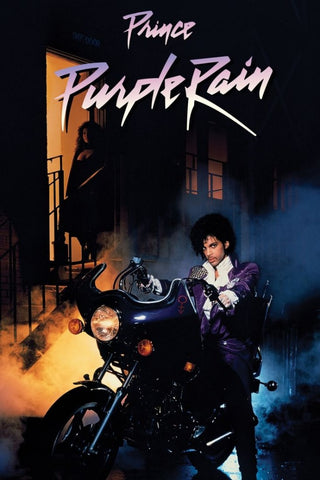 Purple Rain was Prince's first film performance, featuring music by the man himself