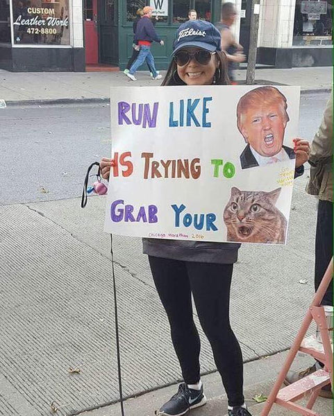 Best Race Signs Trump