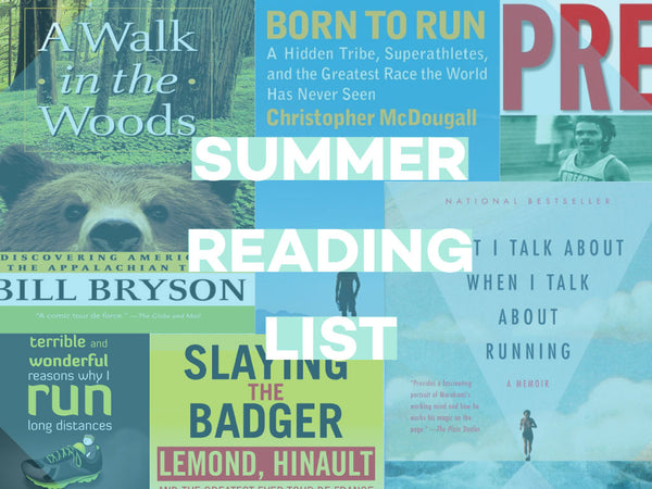Summer reading list Prefontaine Murakami Bill Bryson Born to Run