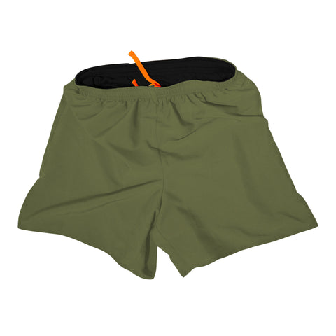 Men's Running Shorts - Green