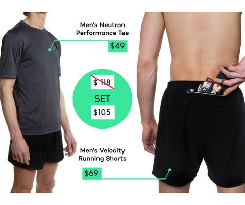 Cool Men's Running Shorts Outfit