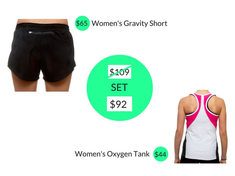 Women's Running Gift Set
