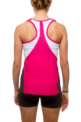 Womens Running Top Pink