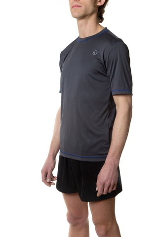 Men's Running Tee - Grey