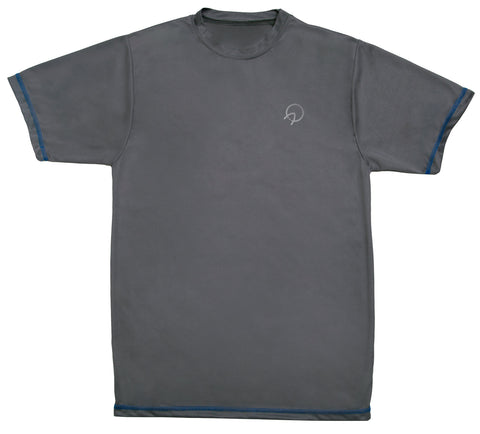 Cool Men's Running Tee Shirt - Grey