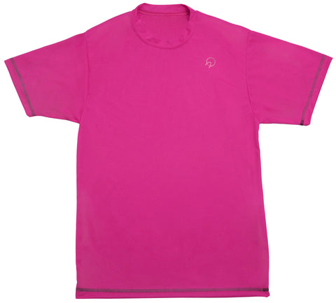 Men's Pink Running Tee Shirt