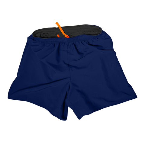 Cool Men's Running Shorts - Navy Blue