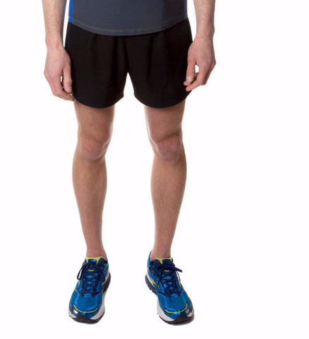 Men's Light Cool Running Shorts - Black