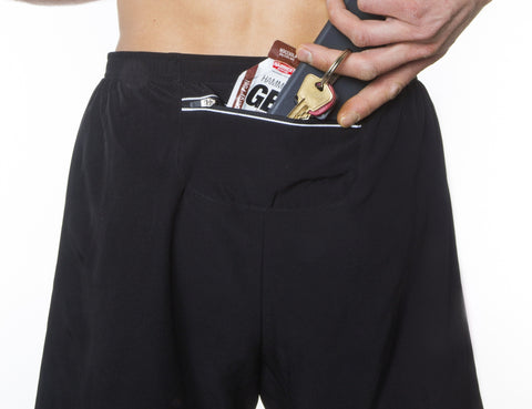 Men's Running Shorts - Marathon Black