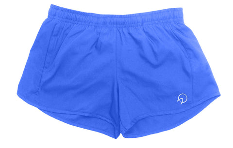 Women's Running Shorts - Light Blue