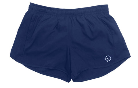 Women's Running Shorts - Navy Blue
