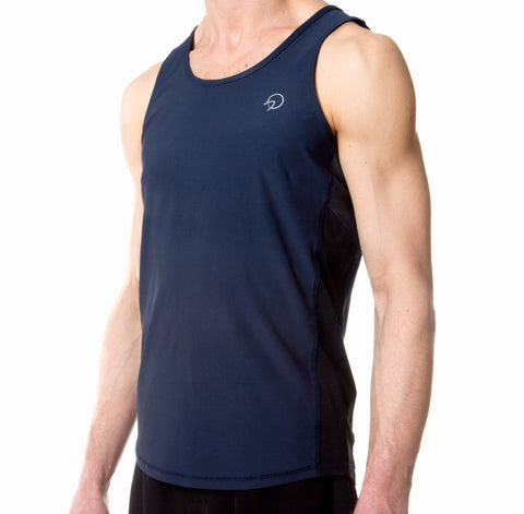 Men's Cool Running Top - Navy