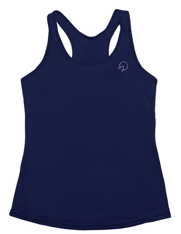 Cute Women's Running Tank Top - Blue