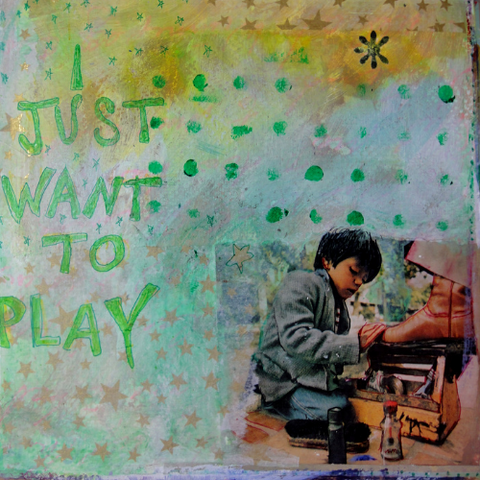 art journaling with anna play