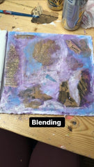art journaling with Anna step five
