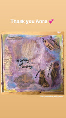 art journaling with Anna step six