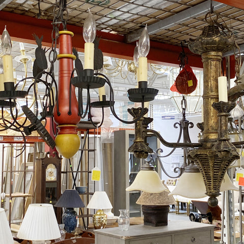 Housatonic Habitat H3ReStore.com sells furniture, decor, hanging lamps, table lamps, floor lamps