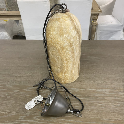 Natural Onyx Stone Hanging Pendant Light