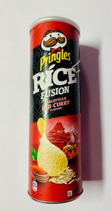 Pringels - red curry - asian - malaysian - chips - Amerika - Antwerpen- Snoepwinkel - Sugar And Sweets - Import