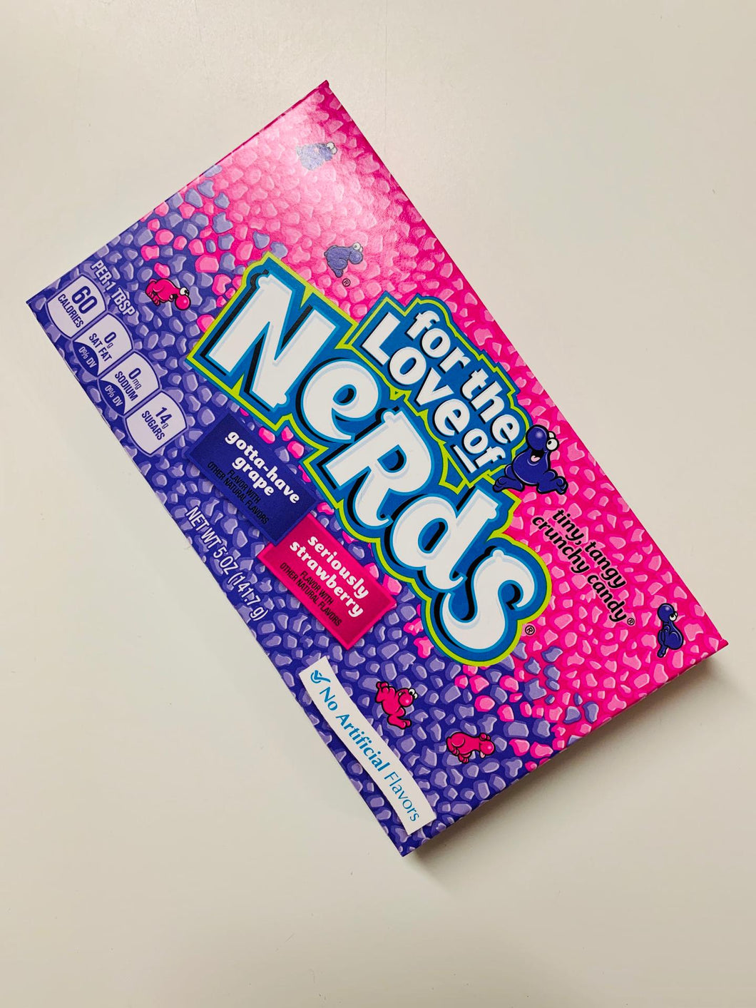 Nerds Grape and strawberry