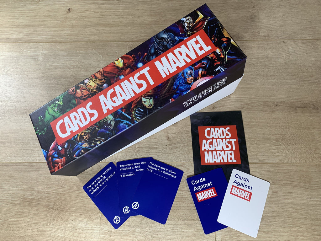 BRAND NEW Cards Against Marvel™ 942 Playing Cards