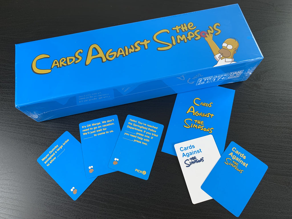 Cards Against Simpsons™ 1072 Playing Cards - Sale Now On!