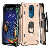 3-in-1 Brigade Combo Case for LG K40 / Harmony 3