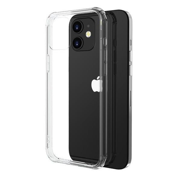 Clear Savvy Series smooth shock absorbent case for the Apple iPhone 12 mini