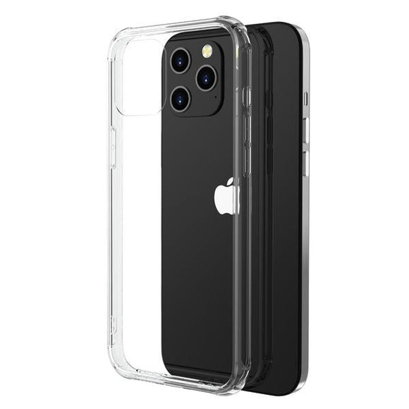 Clear MyBat Pro Savvy Series smooth shock absorbent case for the Apple iPhone 12 & iPhone 12 Pro