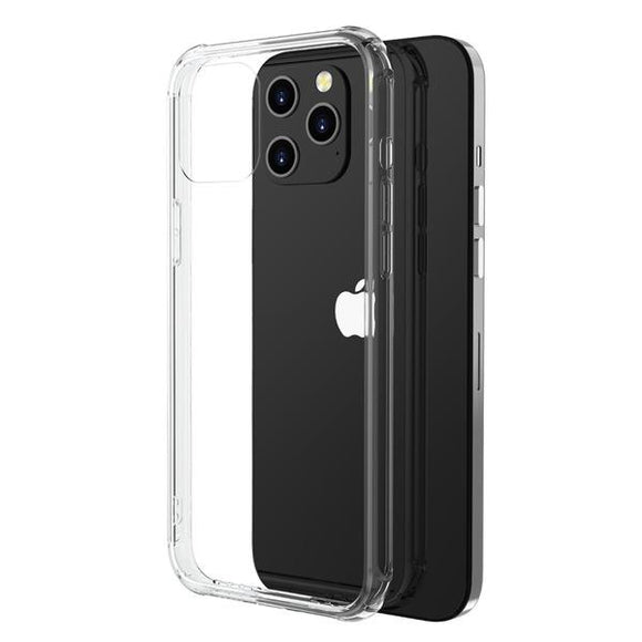 Clear Savvy Series scratch resistant smooth shock absorbent case case for the Apple iPhone 12 Pro Max
