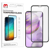 Clear anti smudge full coverage tempered glass screen protector for the Apple iPhone 12 Pro Max