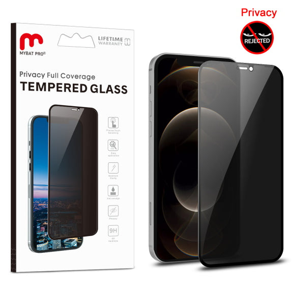 Full Coverage Privacy Tempered Glass for Apple iPhone 12 Pro Max