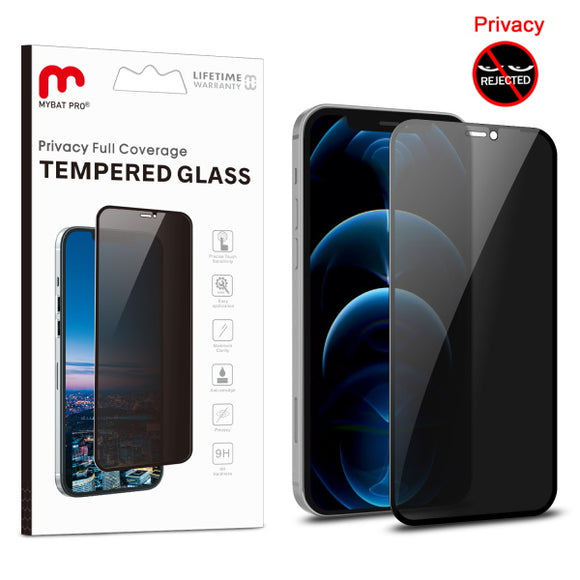 Full Coverage Privacy Tempered Glass for Apple iPhone 12 / 12 Pro