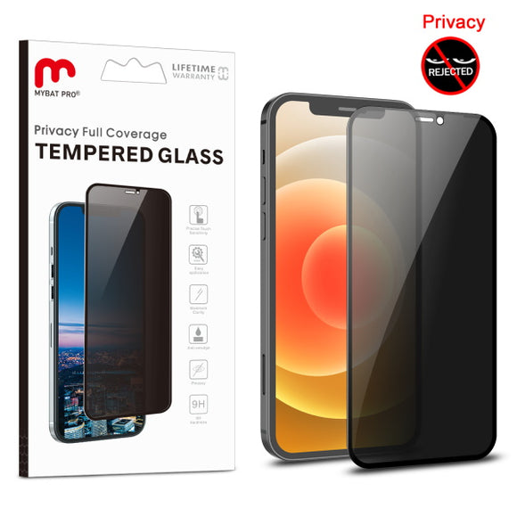 Full Coverage Privacy Tempered Glass for Apple iPhone 12 mini