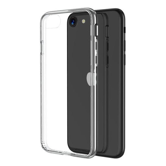 Clear MyBat Pro Savvy Series smooth shock absorbent case for the Apple iPhone SE 2020, iPhone 8 & iPhone 7