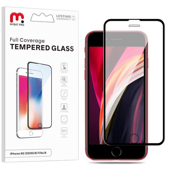 Full Coverage Tempered Glass for Apple iPhone SE (2020)