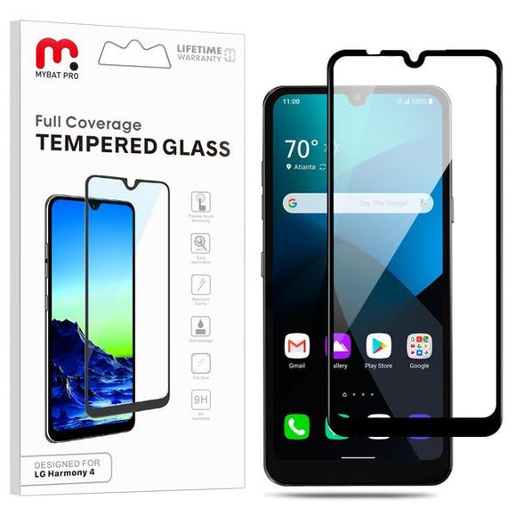 Full Coverage Tempered Glass for LG Harmony 4