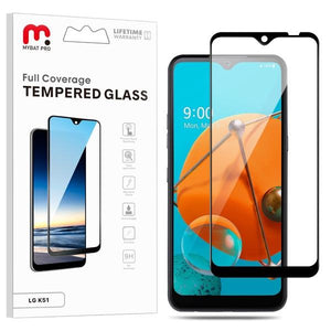 Full Coverage Tempered Glass for LG K51 / Reflect