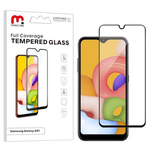 Full Coverage Tempered Glass for Samsung Galaxy A01