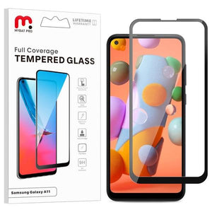 Full Coverage Tempered Glass for Samsung Galaxy A11