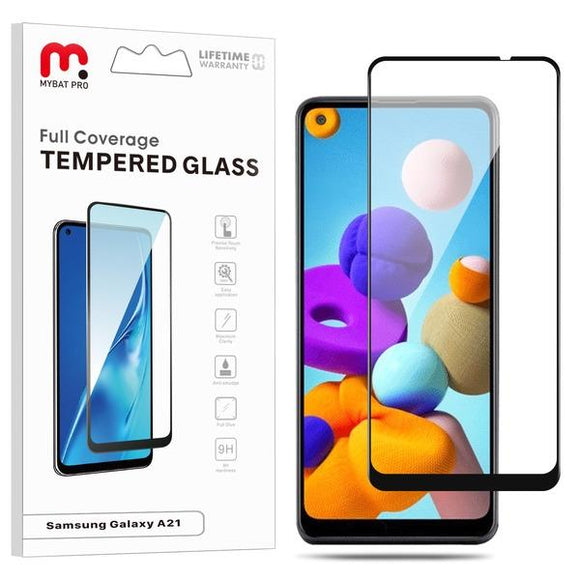 Full Coverage Tempered Glass for Samsung Galaxy A21