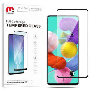 Full Coverage Tempered Glass for Samsung Galaxy A51 / A51 5G / S20 Fan Edition