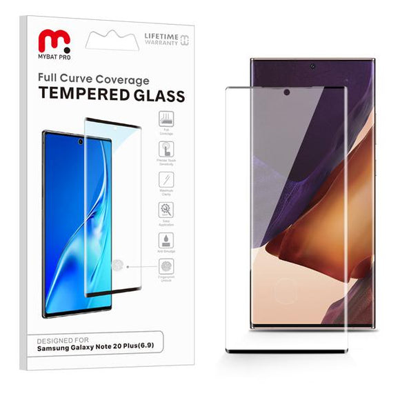 Full Curve Coverage Tempered Glass for Samsung Galaxy Note 20 Ultra