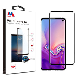 Full Coverage Tempered Glass Screen Protector for Samsung Galaxy S10