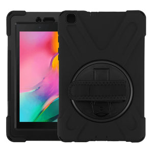 Rotatable Kickstand Tablet Case for Samsung Galaxy Tab A 8.0 (2019)