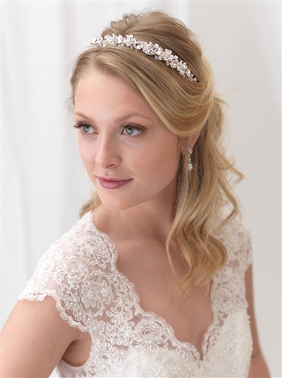 Eliza Floral Wedding Headband